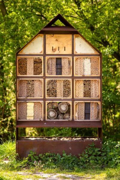 insectenhotel huisje